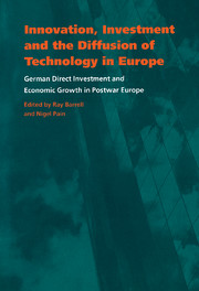 Innovation, Investment and the Diffusion of Technology in Europe