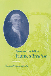 Space and the Self in Hume's Treatise