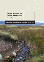Cation Binding by Humic Substances