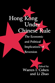 Hong Kong under Chinese Rule