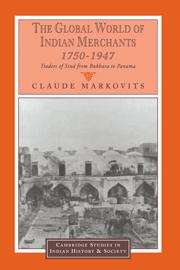The Global World of Indian Merchants, 1750–1947