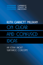 On Clear and Confused Ideas