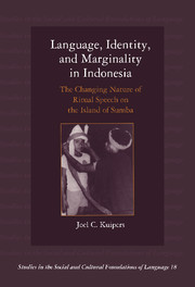 Language, Identity, and Marginality in Indonesia