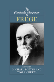 The Cambridge Companion to Frege