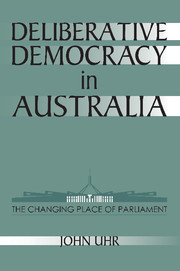 Deliberative Democracy in Australia