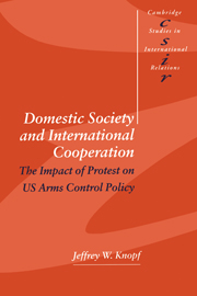Domestic Society and International Cooperation