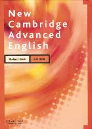 New Cambridge Advanced English