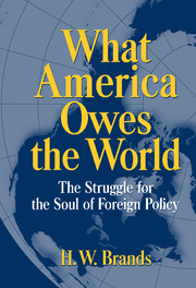 What America Owes the World