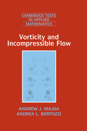 Vorticity and Incompressible Flow