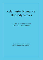 Relativistic Numerical Hydrodynamics
