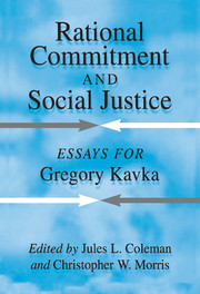 Rational Commitment and Social Justice