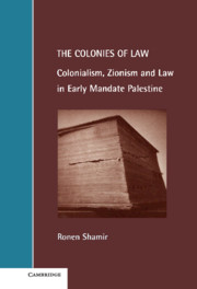 The Colonies of Law