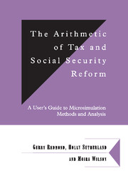 The Arithmetic of Tax and Social Security Reform