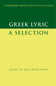 Cambridge Greek and Latin Classics