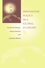 Innovation Policy in a Global Economy