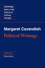 Margaret Cavendish: Political Writings