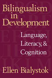 Bilingualism in Development