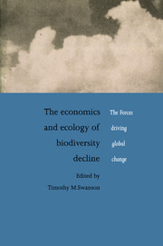 The Economics and Ecology of Biodiversity Decline