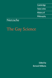 Nietzsche: The Gay Science