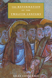 The Reformation of the Twelfth Century