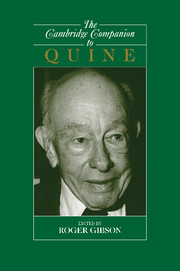The Cambridge Companion to Quine