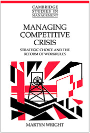 Managing Competitive Crisis