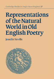 Representations of the Natural World in Old English Poetry