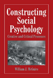 Constructing Social Psychology
