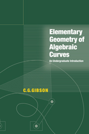 Elementary Geometry of Algebraic Curves
