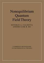 Nonequilibrium Quantum Field Theory