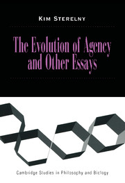 The Evolution of Agency and Other Essays
