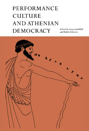 Performance Culture and Athenian Democracy