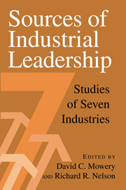Sources of Industrial Leadership