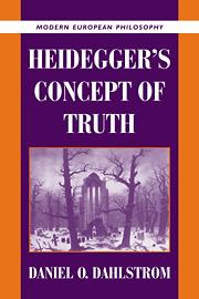 Heidegger's Concept of Truth