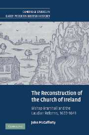 The Reconstruction of the Church of Ireland