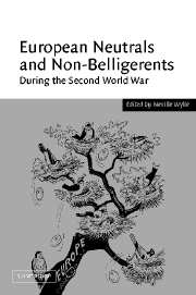 European Neutrals and Non-Belligerents during the Second World War