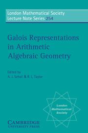 Galois Representations in Arithmetic Algebraic Geometry