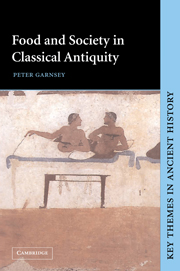 Food and Society in Classical Antiquity cover image