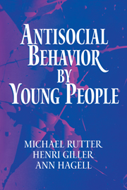 Antisocial Behavior by Young People