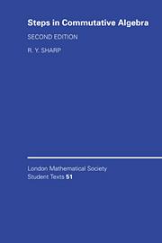 Steps in Commutative Algebra