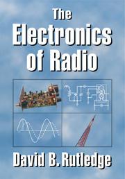 Electronics radio rf and microwave engineering cambridge the electronics of radio fandeluxe Gallery