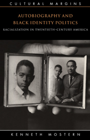 Autobiography and Black Identity Politics