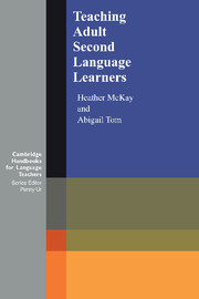 Teaching Adult Second Language Learners