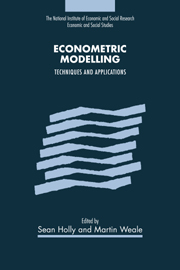 Econometric Modelling