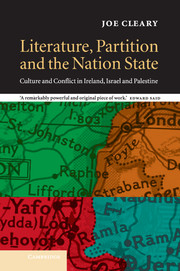 Literature, Partition and the Nation-State