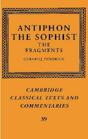 Antiphon the Sophist