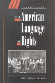 The American Language of Rights
