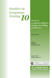 Issues in Computer-Adaptive Testing of Reading Proficiency