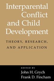 Interparental Conflict and Child Development