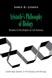 Aristotle's Philosophy of Biology